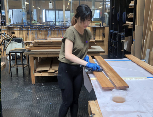 UTAS students 'Learning by Making' with Tassie timber