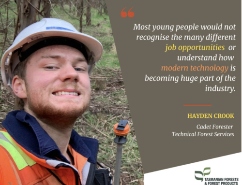 Young cadet urges others to consider forestry